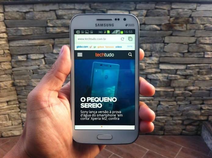 Como abrir páginas em modo desktop no Chrome para Android e iOS? (Foto: Marvin Costa/TechTudo)