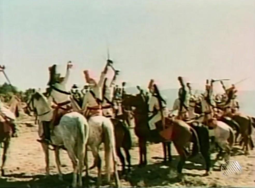 As batalhas pela independência do Brasil na Bahia duraram um ano e sete dias, entre 25 de junho de 1822 e 2 de julho de 1823 — Foto: Reprodução/TV Bahia