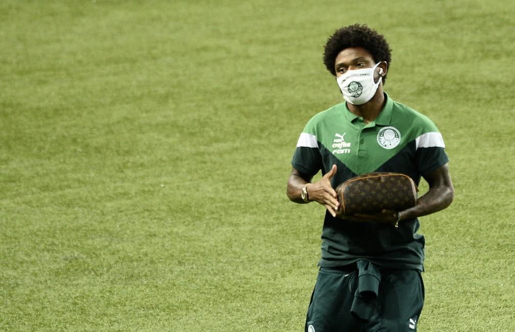 Luiz Adriano está com Covid-19 — Foto: Marcos Ribolli