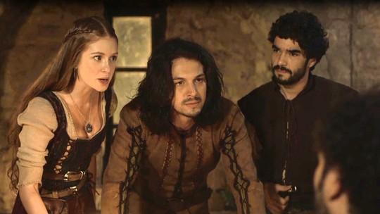 Afonso e Cássio explicam plano de invasão aos rebeldes
