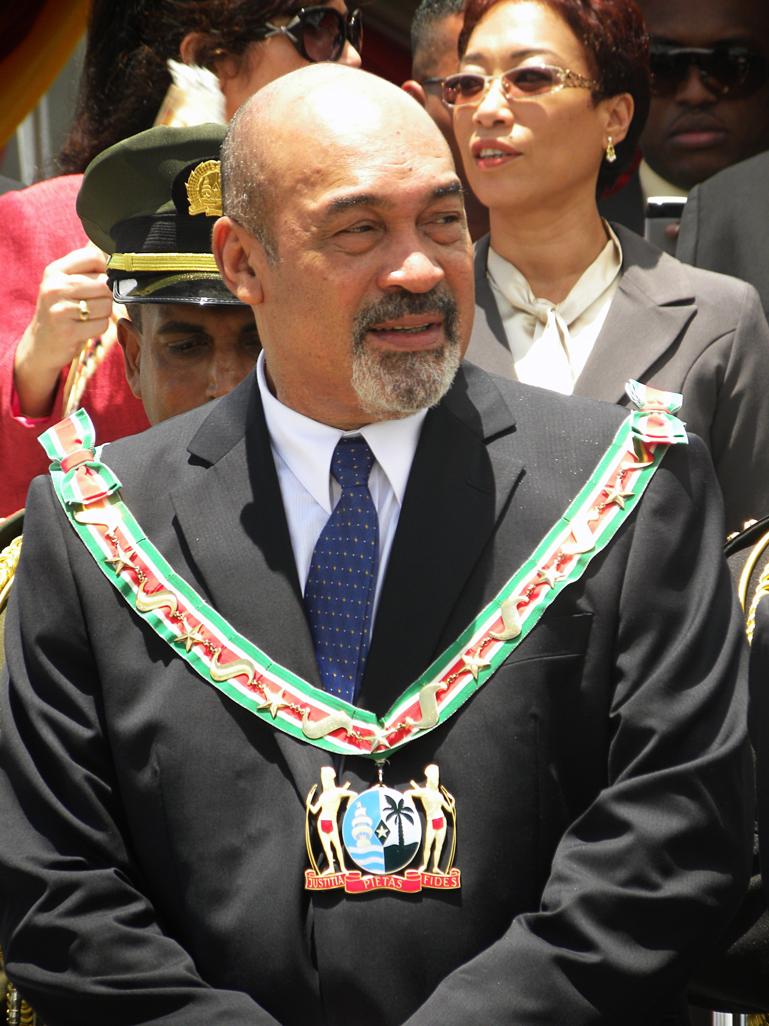 Desi Bouterse, presidente do Suriname (Foto: Wikimedia Commons)