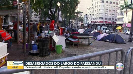 Defensoria pede R$ 2 milhões a famílias de prédio que caiu em SP