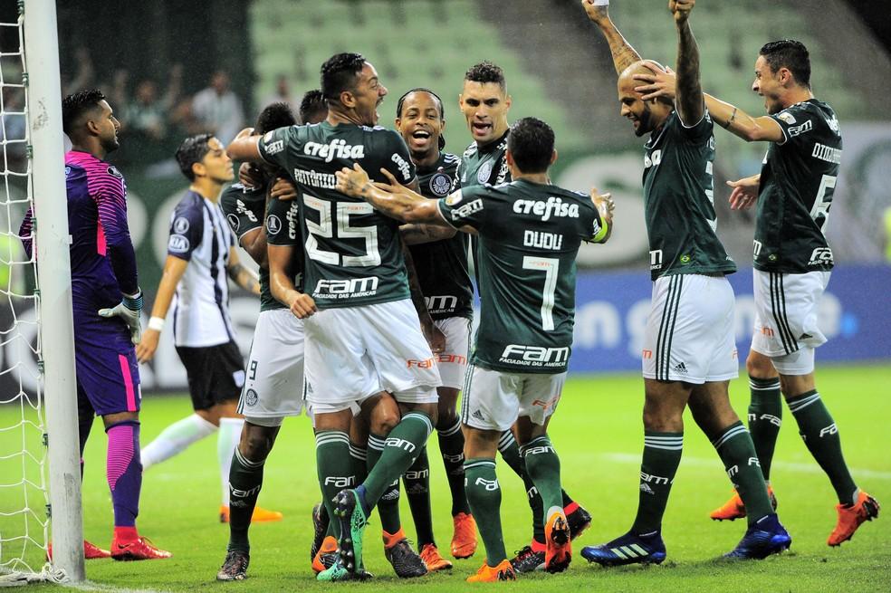 Palmeiras fez a melhor campanha da primeira fase (Foto: Marcos Ribolli)