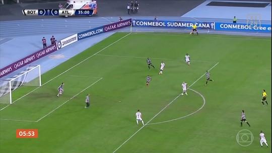 Atlético-MG vence o Botafogo por 1 a 0 pela Sul-Americana