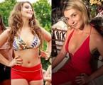 Aimée Madureira antes e depois | Reprodução