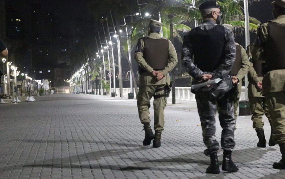 Decreto do governo da Bahia prorroga restrições até 22 de março em Salvador e algumas cidades da região metropolitana — Foto: Alberto Maraux / SSP-BA