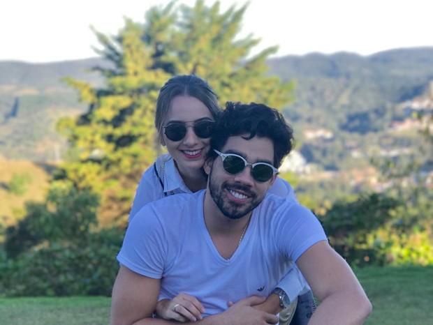 Karoline Calheiros e Gabriel Diniz  (Foto: Arquivo Pessoal)