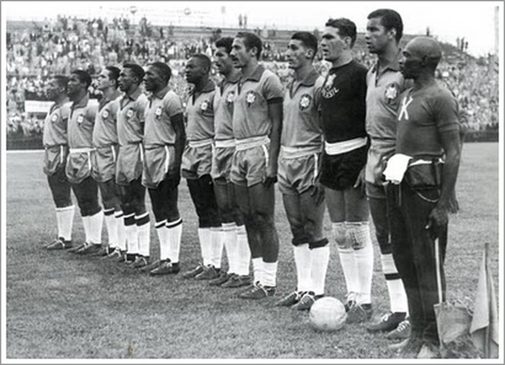 O Brasil na Copa do Mundo de 1954 (Foto: Reprodução )