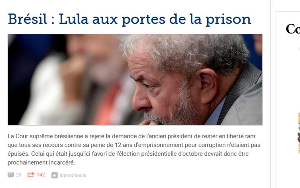 Le Figaro (Foto: Reprodução / Le Figaro)
