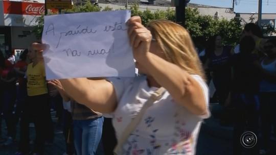 Funcionários da saúde em Marília entram em greve por atraso no 13º salário