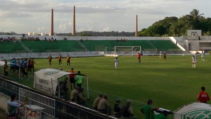 América-PE x Globo FC Estádio Ademir Cunha Série D (Foto: Divulgação/América-PE)