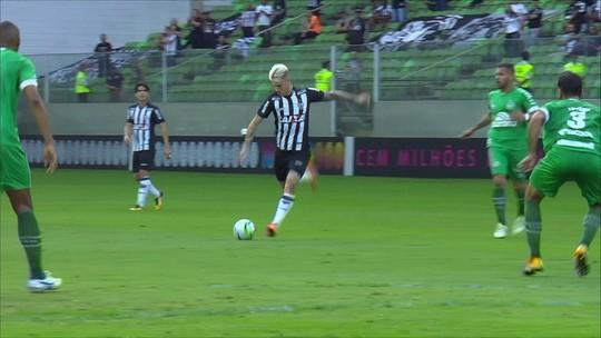 Os gols de Atlético-MG 3 x 3 Chapecoense pela 9ª rodada do Brasileirão 2018