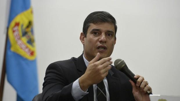 Christian Luz Barth, da Delegacia de Combate à Corrupção da Superintendência Regional em Santa Catarina (Foto: Tânia Rêgo/Agência Brasil)