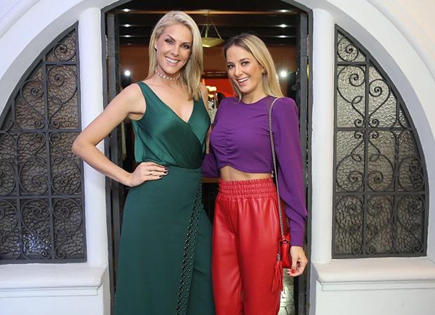 Ana Hickmann e Ticiane Pinheiro (Foto: Manuela Scarpa/Brazil News)