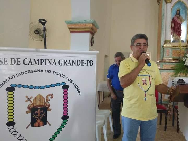 Coordenador de terço dos homens morre aos 53 anos por Covid-19, em Campina Grande