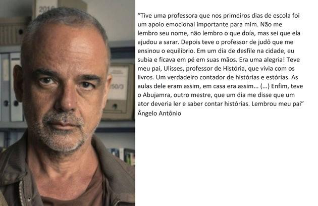 Ângelo Antônio está na nova temporada  (Foto: TV Globo)