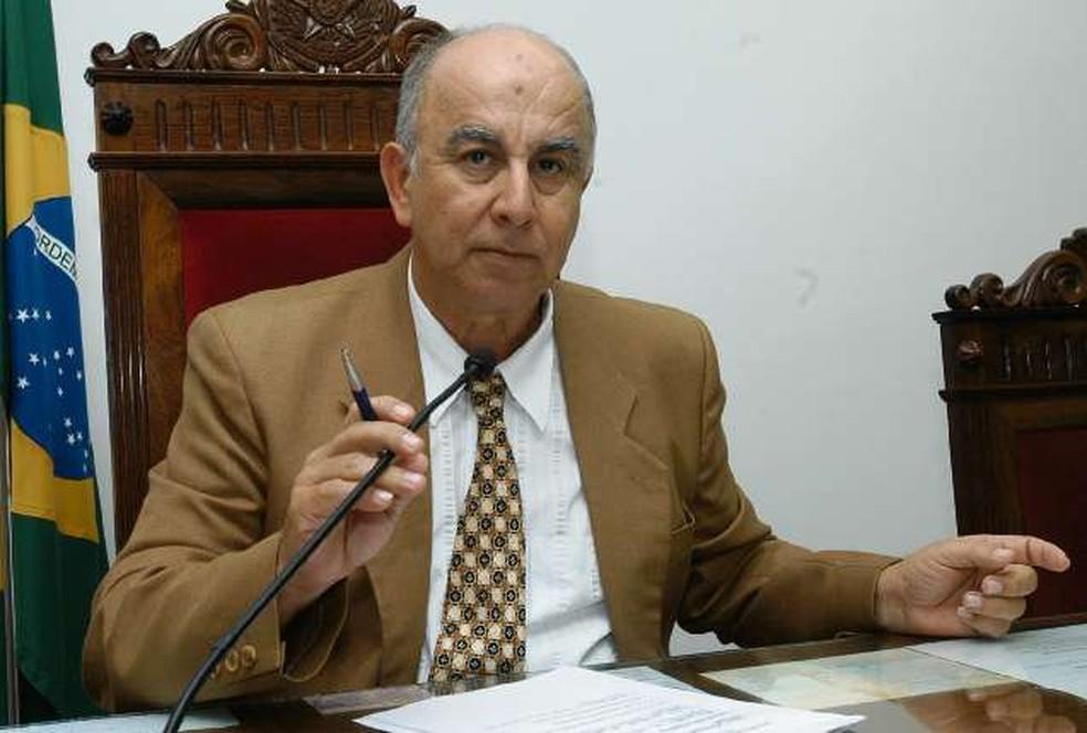 Conselheiro do TC-ES, Valci Ferreira, foi condenado pelo STJ (Foto: Gustavo Louzada/ Arquivo A Gazeta em 06/12/2005)