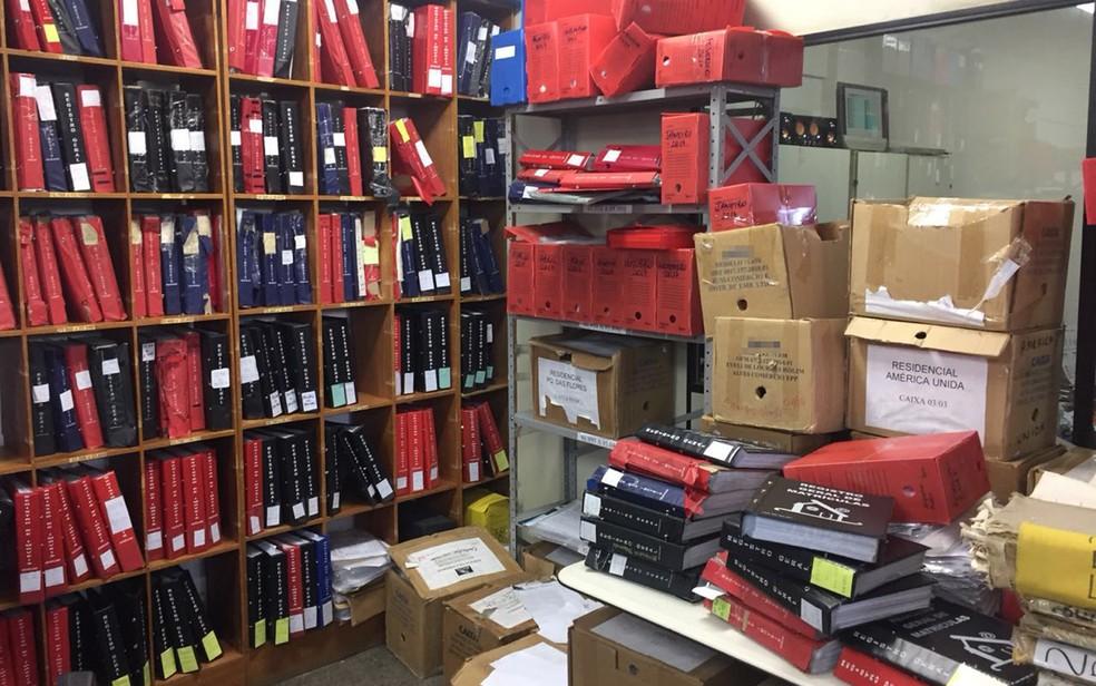 Corrupção ocorria em cartório de registro de imóveis em Vitória da Conquista (Foto: Divulgação/ PF)