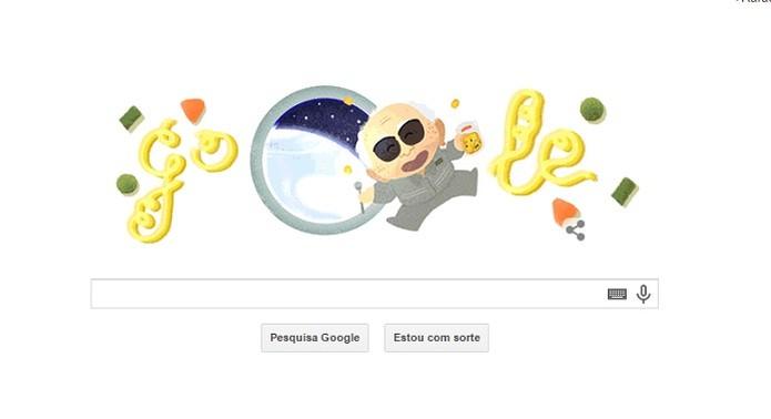 Doodle do Miojo celebra Mumufuku Ando, criador do macarrão instantâneo (Foto: Reprodução/Google)