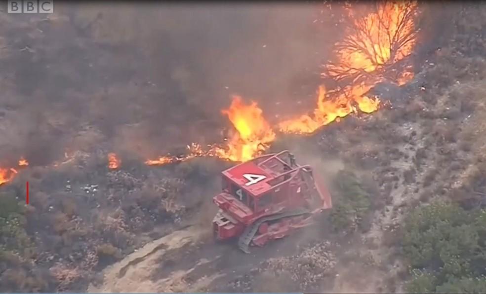 Incêndios na Califórnia já deixaram 50 mortos  — Foto: BBC