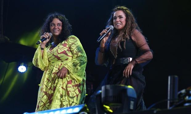 Tulipa Ruiz e Daniela Mercury (Foto: Ed.Globo/Ricardo Cardoso e Ícaro Cerqueira)