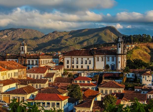 Conjunto arquitetônico e urbanístico de Ouro Preto (Foto: Raquel Mendes Silva/ Reprodução)