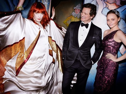 Florence Welch, Colin Firth e Stella McCartney, 2011