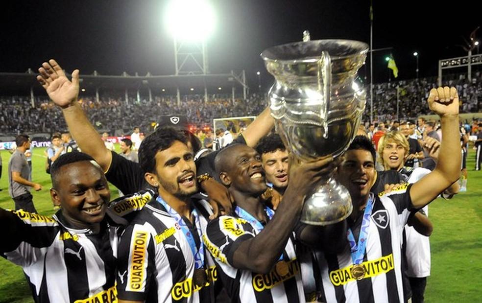 Botafogo de Seedor campeão carioca em 2013 — Foto: André Durão / GloboEsporte.com