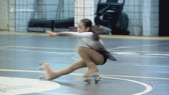 Clube Tumiaru, de São Vicente, tem representado a região na patinação artística