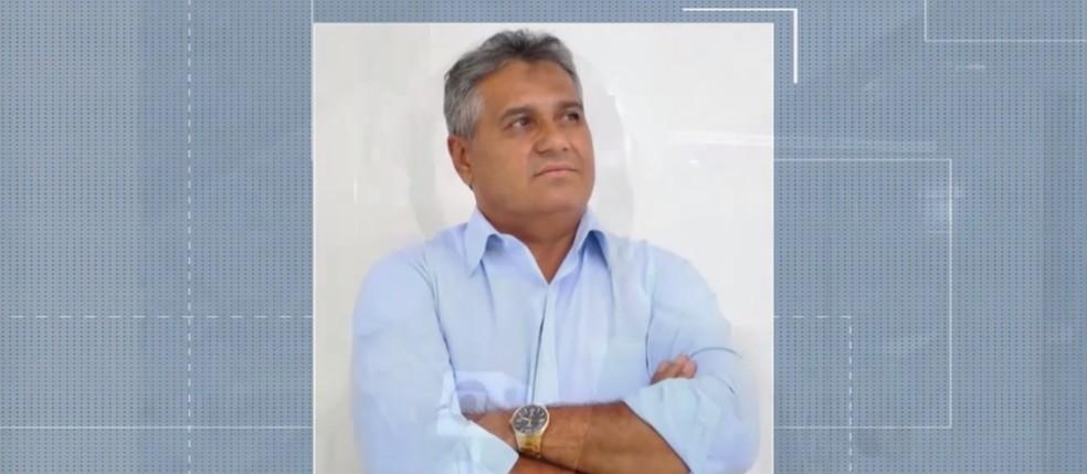 Ex-prefeito de Ipirá Aníbal Ramos morreu nesta segunda-feira (12), em Feira de Santana — Foto: Reprodução/TV Subaé