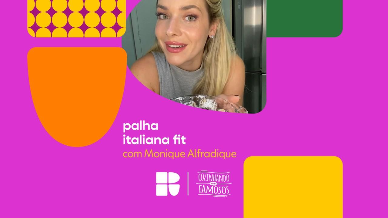 Monique Alfradique ensina a fazer Palha Italiana Fit