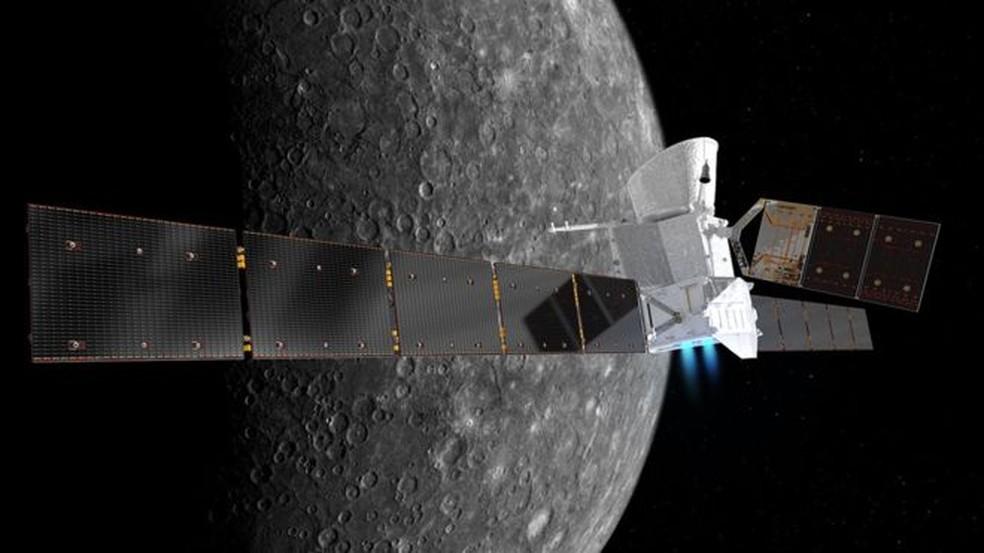 BepiColombo vai demorar sete anos para chegar a Mercúrio — Foto: ESA