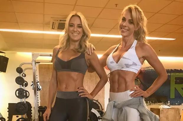 Ticiane Pinheiro e Carol Bittencourt (Foto: Reprodução/Instagram)
