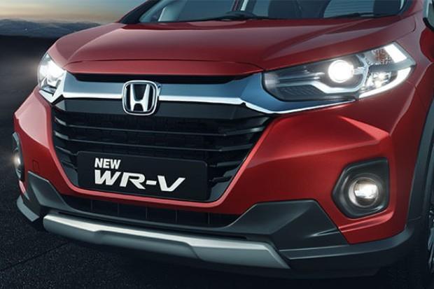 Detalhe da grande dianteira do novo Honda WR-V (Foto: Divulgação)