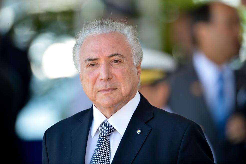 Ex-presidente Michel Temer foi preso nesta quinta-feira (21) — Foto: Marcelo Camargo/Agência Brasil