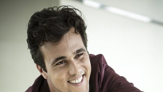 Bruno Ferrari conta que Vicente o influenciou: 'Tem me tornado uma pessoa melhor'