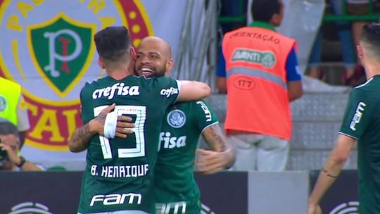 Palmeiras 3 x 0 Fluminense: assista aos melhores momentos