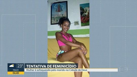 Marido é suspeito de esfaquear mulher na Cidade de Deus, na Zona Oeste do Rio