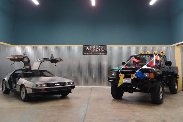 DeLorean DMC-12 De Volta Para o Futuro Toyota Hilux (Foto: Divulgação)