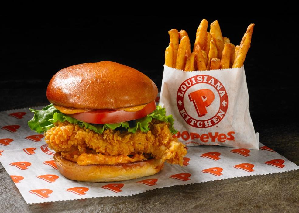 Rede Popeyes será operada pelo Burger King no país (Foto: Divulgação)