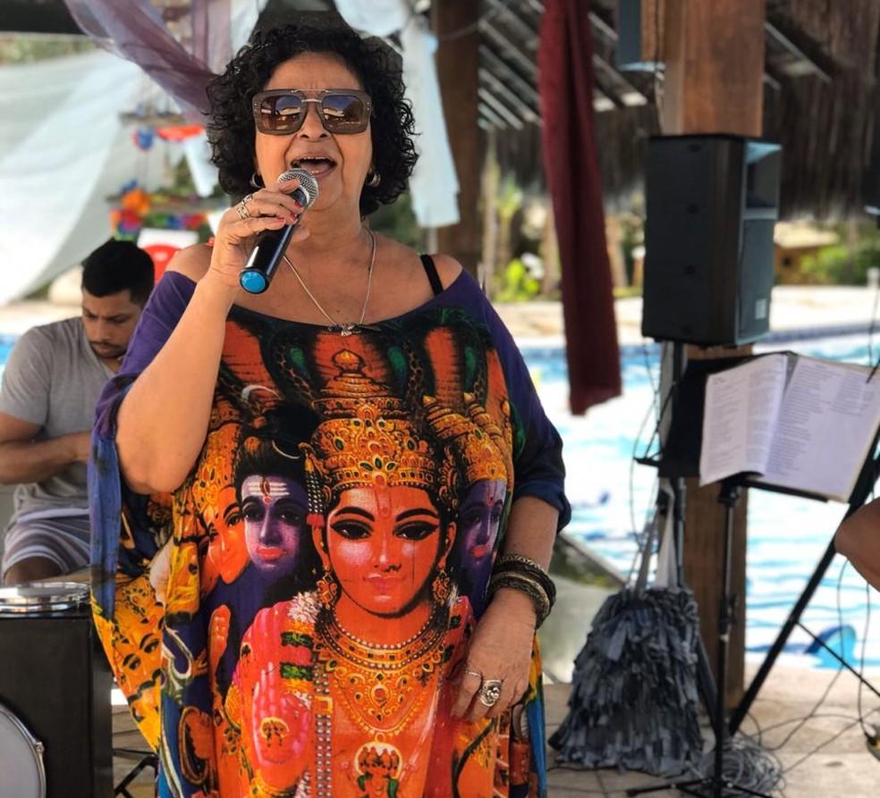 Dodora Cardoso é a convidada da 7ª edição do projeto Serestas ao Luar — Foto: Claudia Mariana/Divulgação