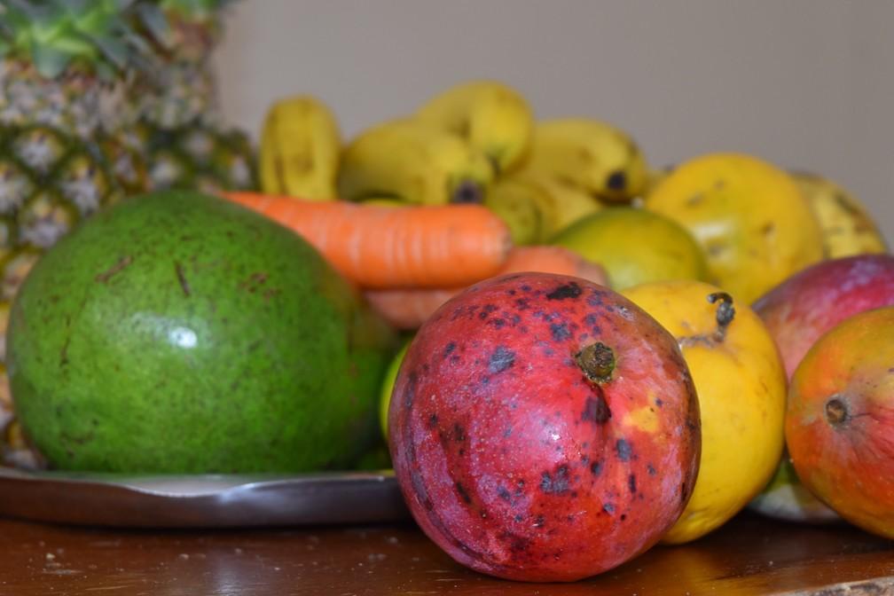 Frutas, legumes, verduras, folhas e grãos são base alimentar de jovens veganos de Campinas (SP) — Foto: Victória Cócolo/G1