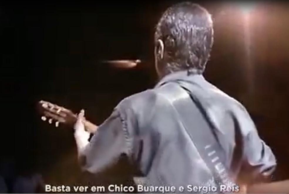 Chico Buarque entra na Justiça contra governador do RS por uso indevido de imagem — Foto: Reprodução