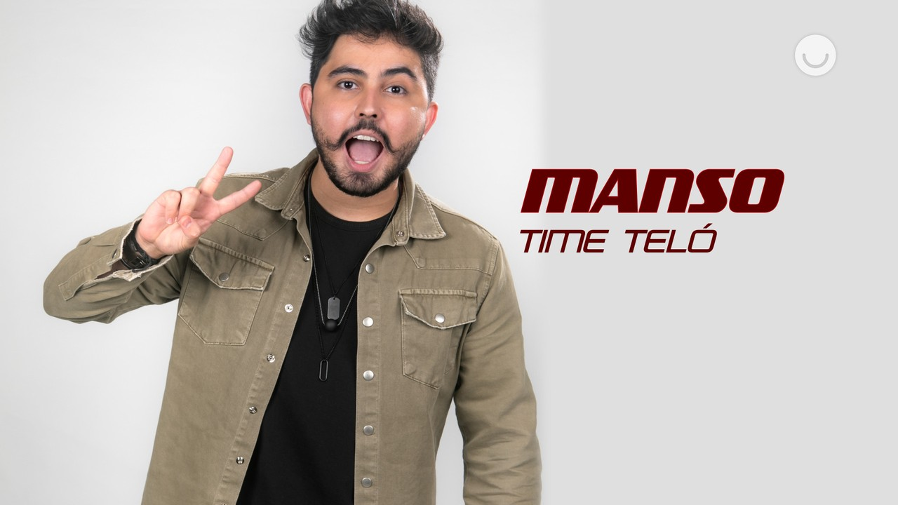 Conheça o participante Manso, do Time Teló