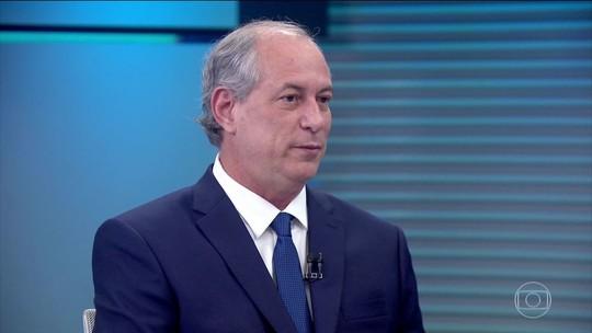 O que é #FATO ou #FAKE na entrevista de Ciro Gomes ao Jornal da Globo