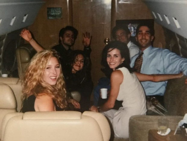 Lisa Kudrow, Matt LeBlanc, Jennifer Aniston, Matthew Perry, David Schwimmer e Courteney Cox (Foto: Reprodução/Instagram)