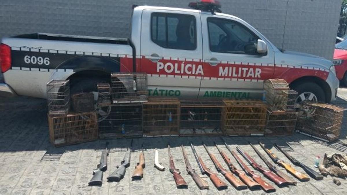 Fábrica clandestina de armas é descoberta em distrito de Campina Grande