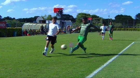 Os gols de Juventude 1 x 3 Corinthians pela Copa RS de futebol Sub-20
