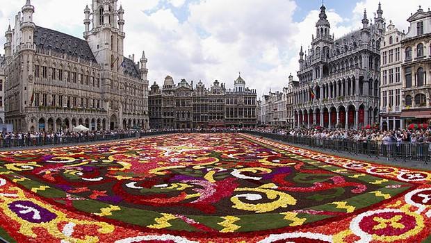 Bruxelas, capital da Bélgica (Foto: Wouter Hagens/Wikipedia)