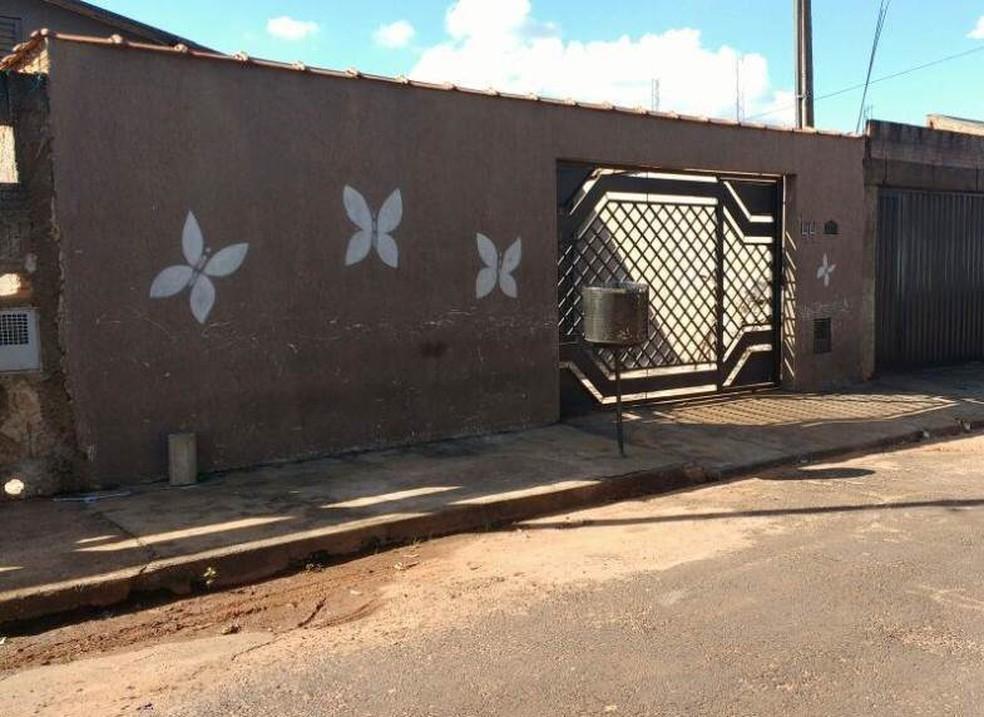 Casa onde menina vivia com os avós em Araraquara (Foto: A Cidade ON/ Araraquara)